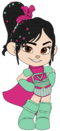 Vanellope's Ballistic Armour with Cape