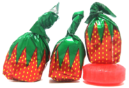 Strawberry hard candy