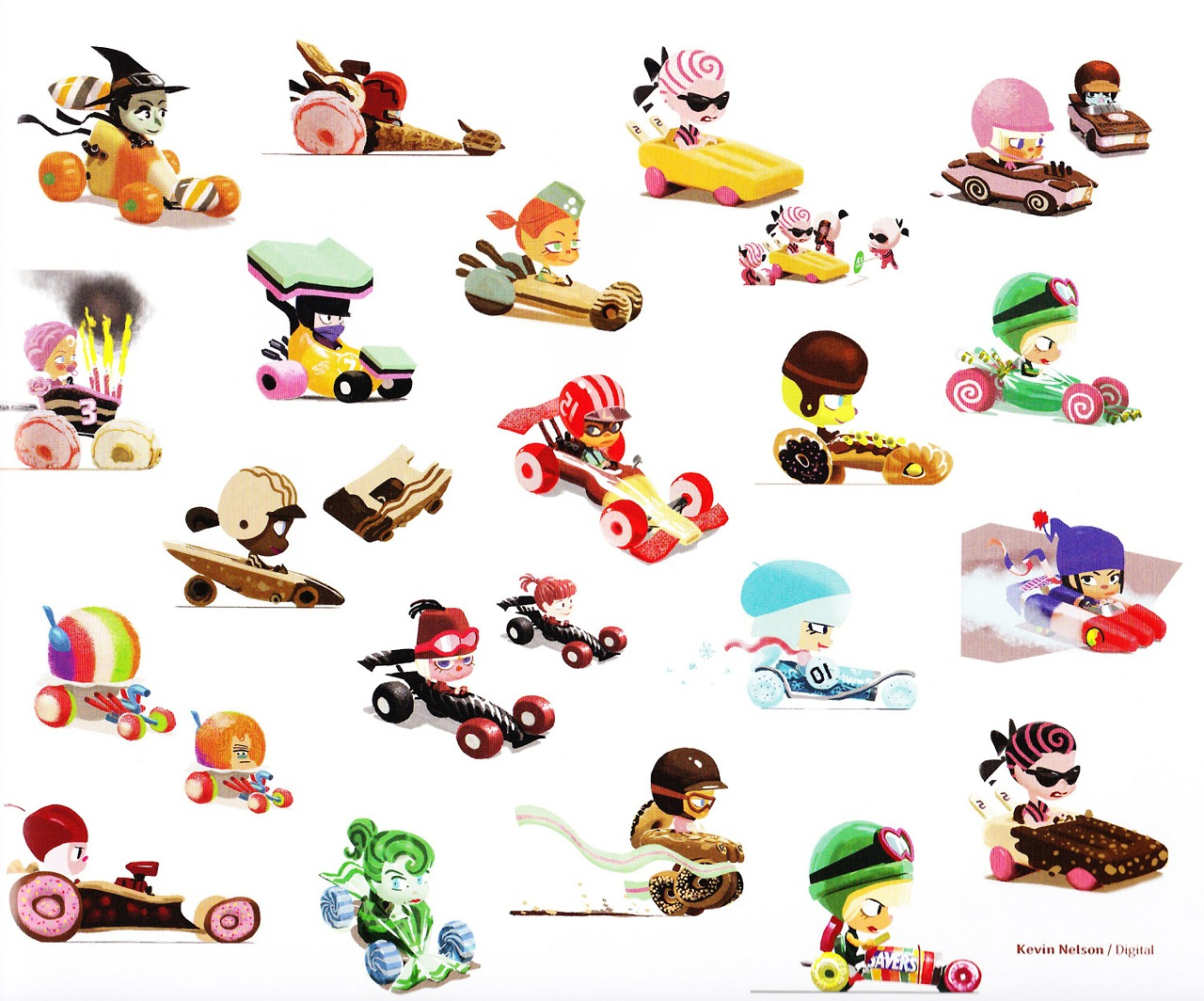 Toy Names A Z : Image sugar rush concept scrapped characters eg