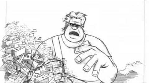 Nick Ranieri - Wreck-it Ralph Ralph 2d Animation Test