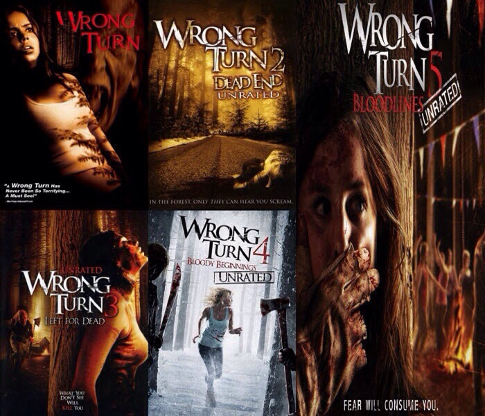 Complete Wrong Turn Movie Series Watch Online  English Full Movies *BluRay*