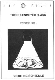 The Erlenmeyer Flask shooting schedule