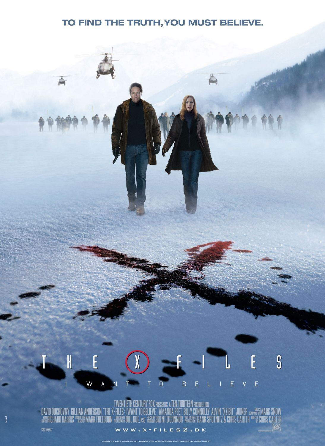 I Want to Believe poster 2  X Files I Want To Believe Poster