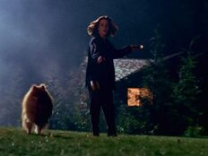 Queequeg runs from Dana Scully