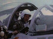 Alvin Kersh flying