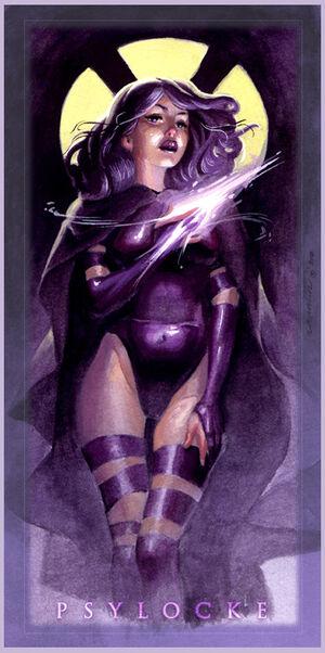 Psylocke (by Anneth Lagamo)