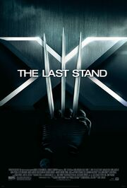 X-Men The Last Stand movie poster