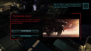 XCOM(EU) TheVolunteer Dies