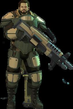 XCOM-EU Soldiers Class - Heavy