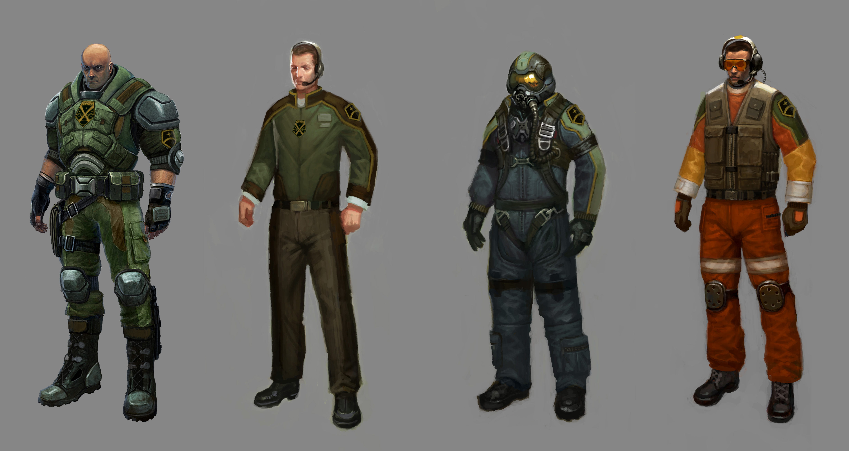 Image - Concept - Crews.jpg - XCOM Wiki