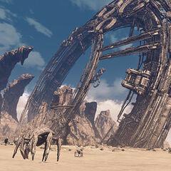Ruins in Oblivia