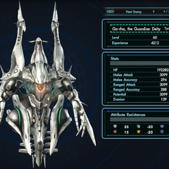 Go-rha's Enemy Index information