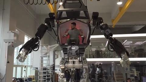 """METHOD-1"" manned robot project by ""Korea Future Technology"" (주)한국미래기술 & Vitaly Bulgarov - 4"