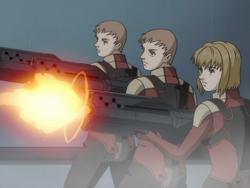 Combat Realians shooting