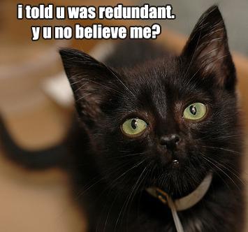 Redundant41