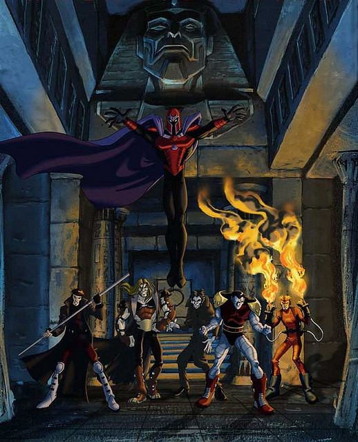 Scanner - Marvel Comics - X-men enemy - Acolytes of Magneto ...