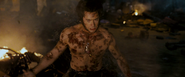 Logan - Injured by Phoenix (The Last Stand)