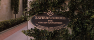 Xavier's School Sign (X-Men - 2000)