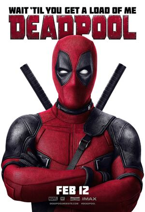 Deadpool Official Poster