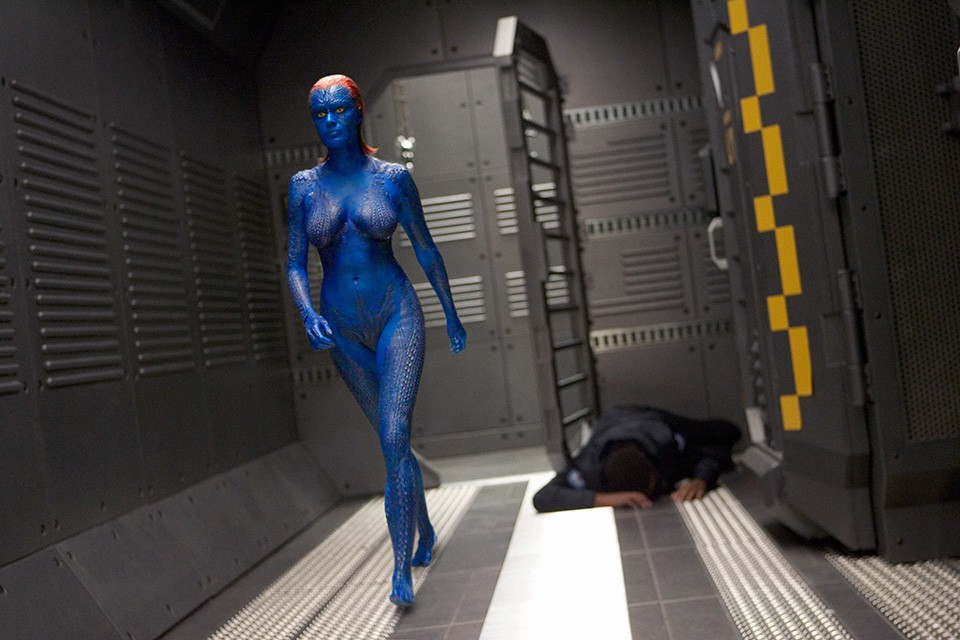 X Men Origins Mystique FilePrison escape mystique