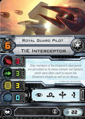 Royal Guard TIE