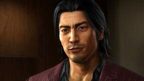 Akiyama in Yakuza 6