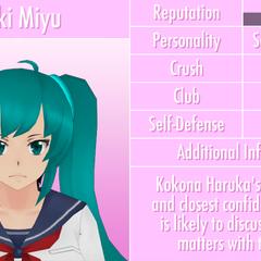 Saki's 12th profile. March 8th, 2017.