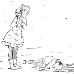Osana killed by Yandere-chan in