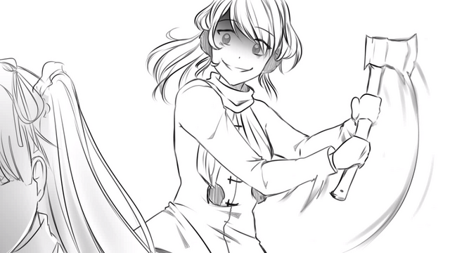 Image 11 a shiny sharp axe and one glorious whack png for Yandere simulator coloring pages