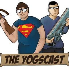 The original Yogscast logo and title card for their videos.