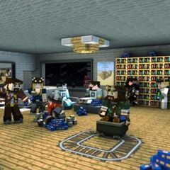 A fan-made Minecraft animated picture of the Yogscast