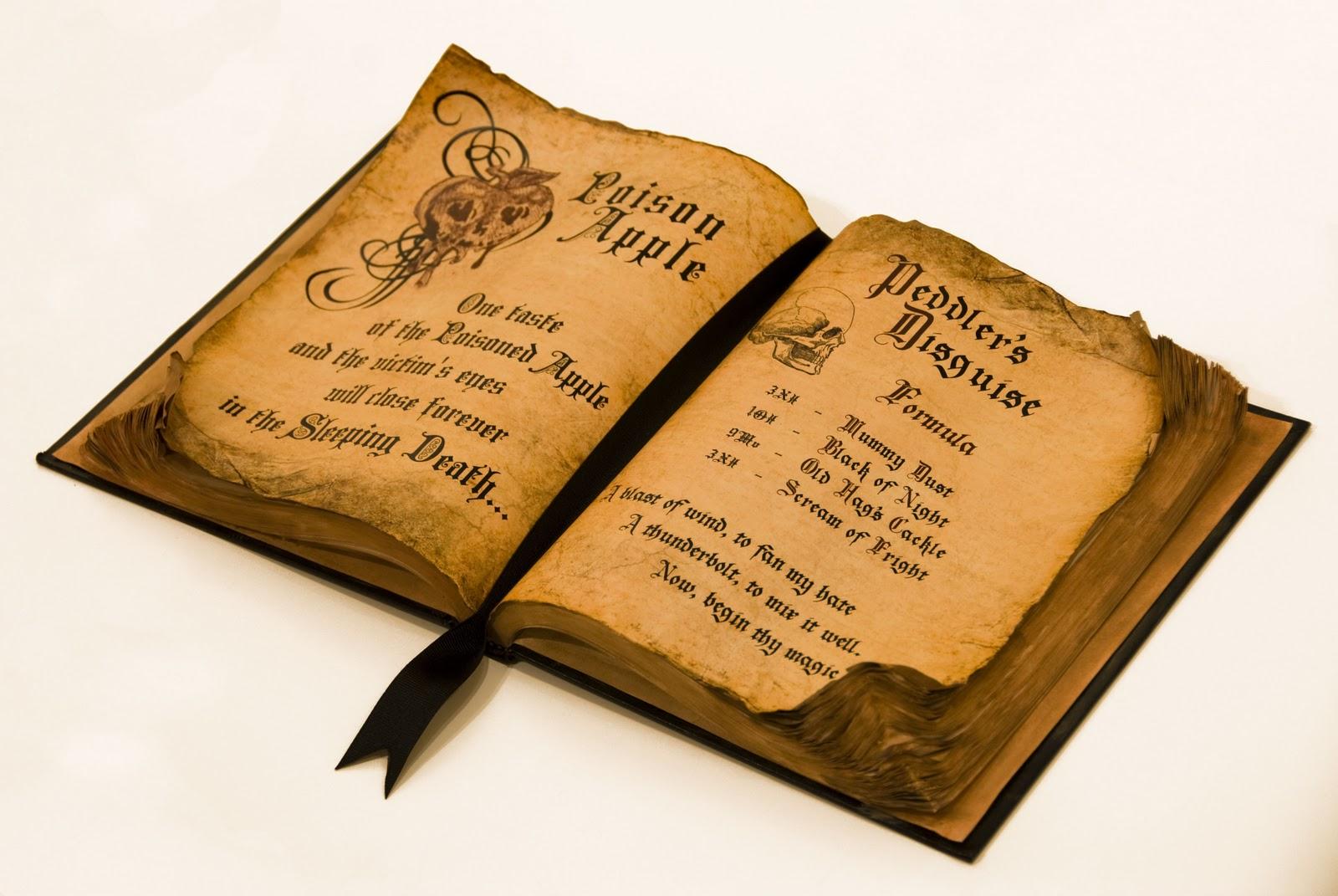 Как сделать книгу заклинаний своими руками для детей