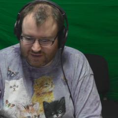 Simon with his Jingle Cats shirt.