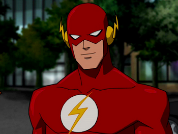 Flash Young Justice Flash Family