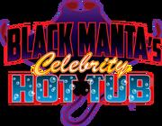 Black Manta's Celebrity Hot Tub logo