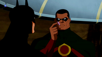Batman and Icon perplexed