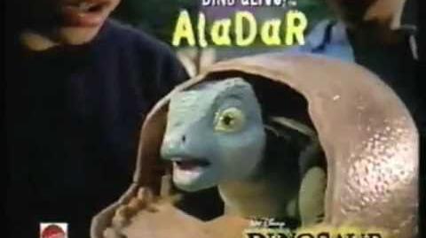 Dino Alive Aladar! Dinosaur egg commercial