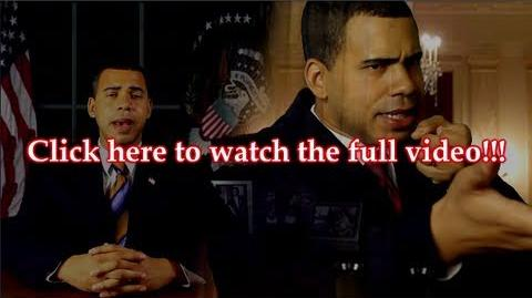 President Obama on Death of Osama SPOOF- BEHIND THE SCENES