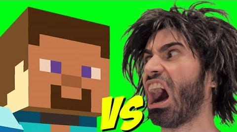 MINECRAFT vs The World's Worst Gamer!
