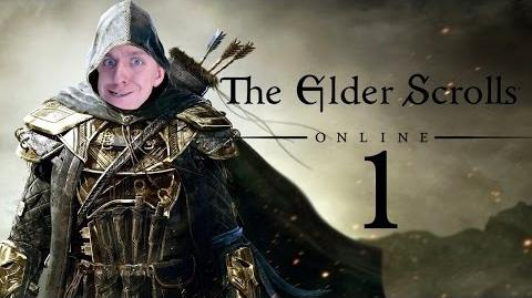Let's Play Elder Scrolls Online (Dragonknight 1-50) Part 1 - Prison Escape!!!!