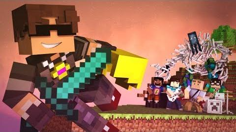 """New World"" - A Minecraft Parody of Coldplay's Paradise (Music Video)-1412647417"