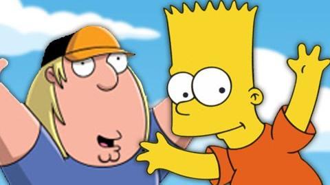 Chris Griffin vs Bart Simpson