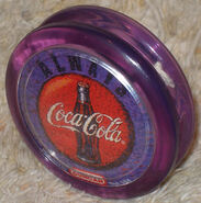 Purple duncan coke yo-yo 2