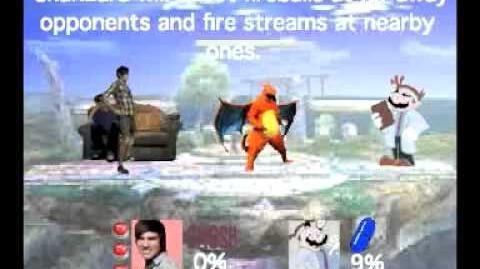 Smash Bros Lawl Moveset-Smosh