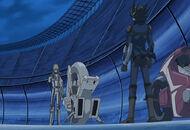Yusei encounters jack