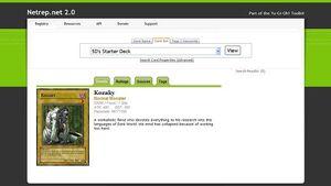 Netrep 2.0 screenshot