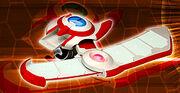 Osiris Red Academia Disk - real world