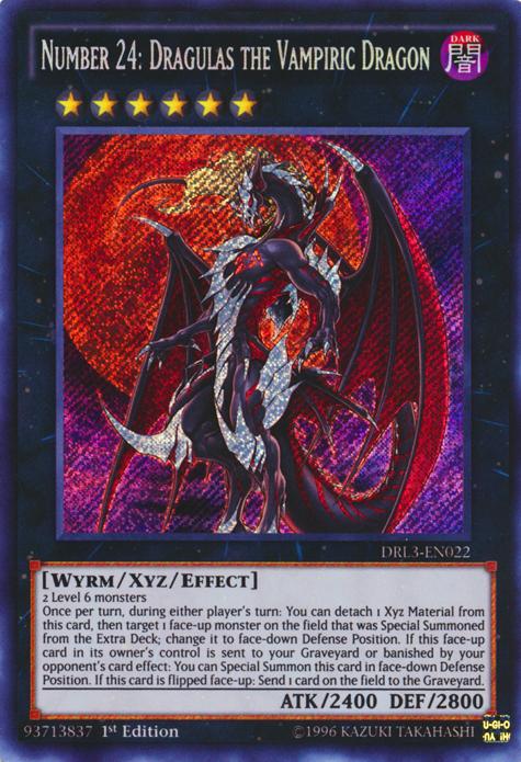 number 24 dragulas the vampiric dragon yugioh