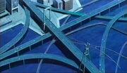 Daedalus Bridge city