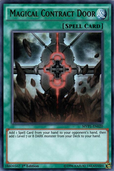 card tipsmagical contract door yugioh fandom